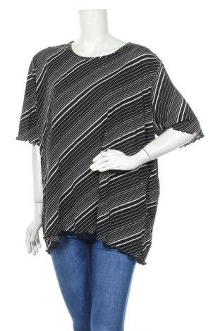 Γυναικεία μπλούζα Ulla Popken, Μέγεθος XXL, Χρώμα Μαύρο, Πολυαμίδη, Τιμή 4,38€