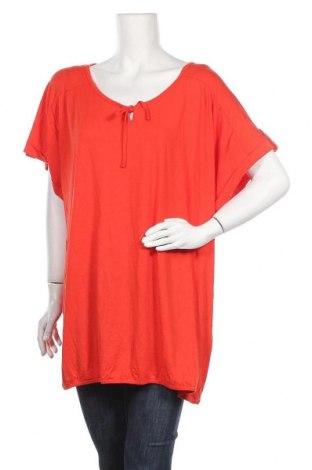 Γυναικεία μπλούζα Ulla Popken, Μέγεθος XL, Χρώμα Κόκκινο, 95% βισκόζη, 5% ελαστάνη, Τιμή 5,55€