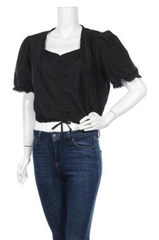 Γυναικεία μπλούζα Ulla Popken, Μέγεθος XXL, Χρώμα Μαύρο, 69% βαμβάκι, 28% πολυεστέρας, 3% ελαστάνη, Τιμή 19,77€