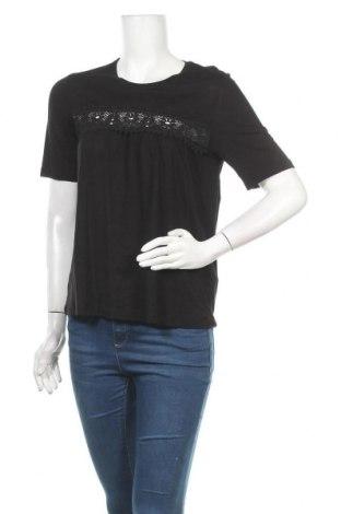 Дамска блуза Vero Moda, Размер S, Цвят Черен, Вискоза, Цена 27,30лв.