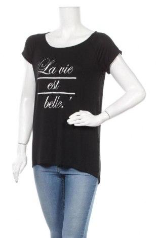 Γυναικεία μπλούζα Vert De Rage, Μέγεθος M, Χρώμα Μαύρο, Τιμή 5,52€