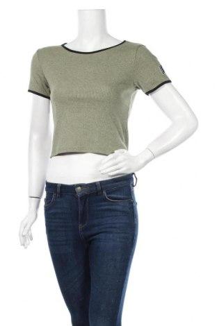Γυναικεία μπλούζα Vert De Rage, Μέγεθος S, Χρώμα Πράσινο, Τιμή 3,18€
