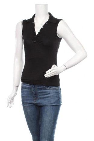 Γυναικείο αμάνικο μπλουζάκι Vert De Rage, Μέγεθος M, Χρώμα Μαύρο, 95% βισκόζη, 5% ελαστάνη, Τιμή 2,53€