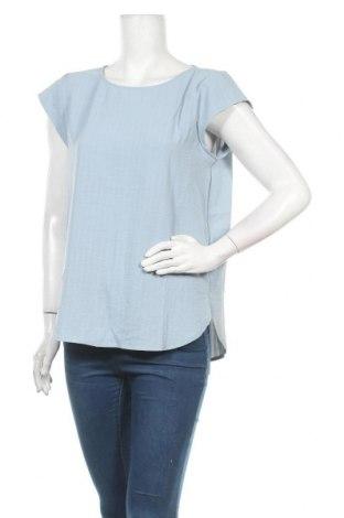 Дамска блуза Vila, Размер L, Цвят Син, Полиестер, Цена 31,50лв.