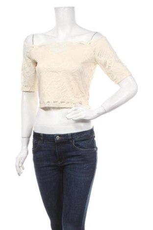 Дамска блуза Vila, Размер M, Цвят Екрю, 93% полиамид, 7% еластан, Цена 36,75лв.