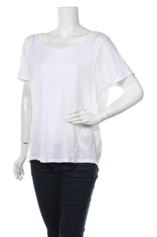 Γυναικεία μπλούζα Woman By Tchibo, Μέγεθος XL, Χρώμα Λευκό, Λινό, Τιμή 8,28€