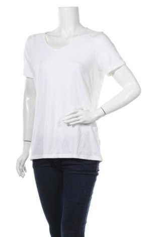 Γυναικεία μπλούζα Woman By Tchibo, Μέγεθος M, Χρώμα Εκρού, 50% βαμβάκι, 45% βισκόζη, 5% ελαστάνη, Τιμή 8,83€