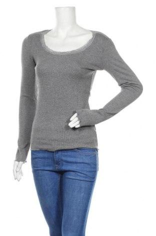 Γυναικεία μπλούζα Woman By Tchibo, Μέγεθος S, Χρώμα Γκρί, 45% βαμβάκι, 45% βισκόζη, 10% ελαστάνη, Τιμή 11,04€