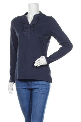Γυναικεία μπλούζα Woman By Tchibo, Μέγεθος S, Χρώμα Μπλέ, Βαμβάκι, Τιμή 8,83€