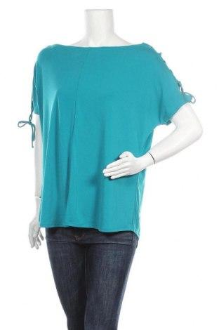 Γυναικεία μπλούζα Worthington, Μέγεθος XL, Χρώμα Μπλέ, 95% πολυεστέρας, 5% ελαστάνη, Τιμή 11,04€