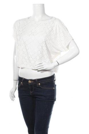 Дамска блуза Xxi, Размер M, Цвят Бял, 87% полиестер, 13% еластан, Цена 5,88лв.