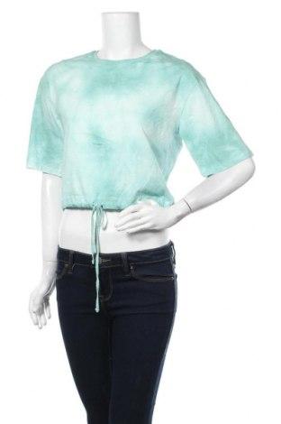 Γυναικεία μπλούζα Yes Or No, Μέγεθος S, Χρώμα Πράσινο, Βαμβάκι, Τιμή 7,31€