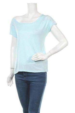 Γυναικεία μπλούζα Yes Or No, Μέγεθος M, Χρώμα Μπλέ, Βισκόζη, Τιμή 9,09€