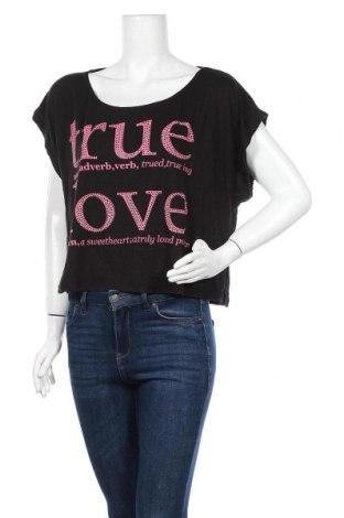 Γυναικεία μπλούζα Yes Or No, Μέγεθος L, Χρώμα Μαύρο, Τιμή 10,39€