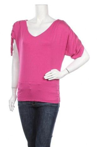 Дамска блуза Yes Or No, Размер M, Цвят Розов, 96% вискоза, 4% еластан, Цена 5,00лв.