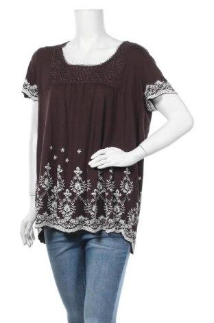 Γυναικεία μπλούζα Yessica, Μέγεθος XL, Χρώμα Καφέ, Τιμή 11,69€