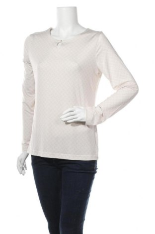 Дамска блуза Yorn, Размер L, Цвят Бежов, 95% полиестер, 5% еластан, Цена 4,73лв.