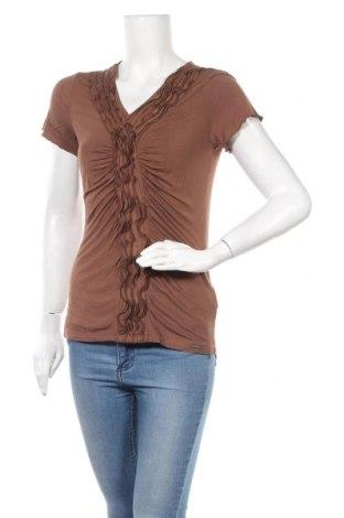 Γυναικεία μπλούζα Your Sixth Sense, Μέγεθος S, Χρώμα Καφέ, 95% βισκόζη, 5% ελαστάνη, Τιμή 9,38€