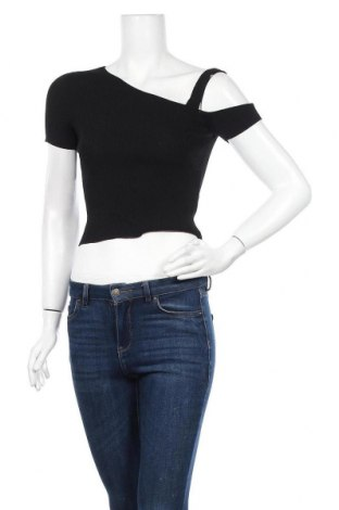 Γυναικεία μπλούζα Zara Knitwear, Μέγεθος S, Χρώμα Μαύρο, 62% βισκόζη, 38% πολυαμίδη, Τιμή 13,64€