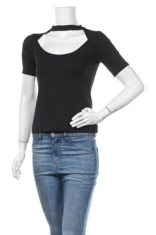 Γυναικεία μπλούζα Zara Trafaluc, Μέγεθος S, Χρώμα Μαύρο, 94% πολυεστέρας, 6% ελαστάνη, Τιμή 11,11€