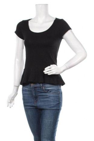 Дамска блуза Zebra, Размер S, Цвят Черен, 95% памук, 5% еластан, Цена 11,03лв.
