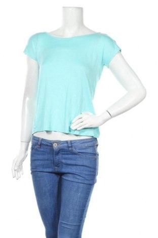 Дамска блуза Zebra, Размер XS, Цвят Син, 95% вискоза, 5% еластан, Цена 13,39лв.