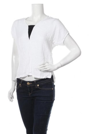 Дамска блуза Zebra, Размер M, Цвят Бял, Вискоза, Цена 13,39лв.