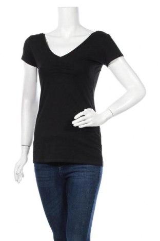 Дамска блуза Zebra, Размер M, Цвят Черен, 95% памук, 5% еластан, Цена 12,50лв.