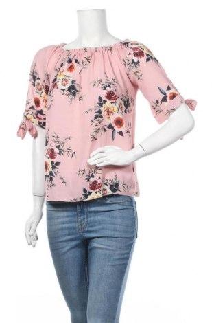 Дамска блуза Zebra, Размер S, Цвят Розов, Полиестер, Цена 16,80лв.