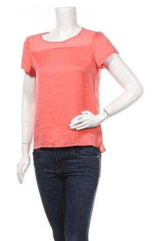 Дамска блуза Zebra, Размер XS, Цвят Оранжев, Полиестер, Цена 9,45лв.
