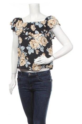 Дамска блуза Zebra, Размер S, Цвят Многоцветен, Вискоза, Цена 11,34лв.