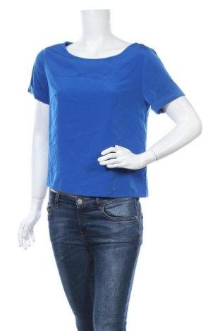 Дамска блуза Zebra, Размер S, Цвят Син, Полиестер, Цена 6,72лв.