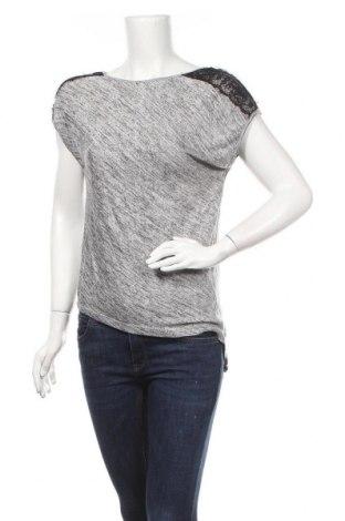 Дамска блуза Zebra, Размер S, Цвят Сив, 95% полиестер, 5% еластан, Цена 14,28лв.