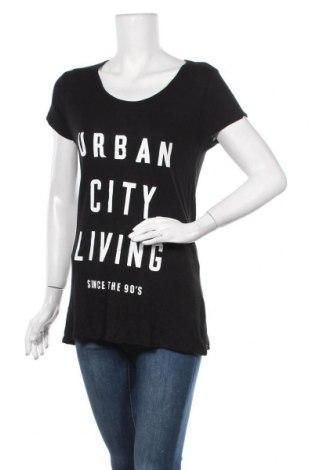 Дамска блуза Zebra, Размер L, Цвят Черен, Вискоза, Цена 11,76лв.