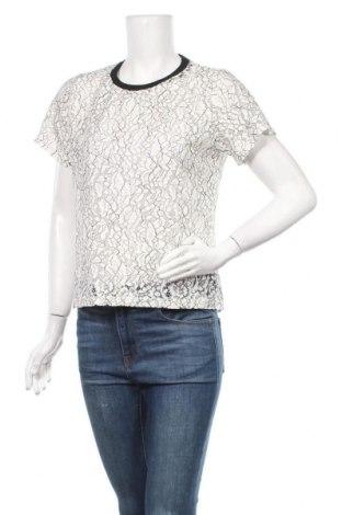 Дамска блуза Zebra, Размер L, Цвят Бял, 50% памук, 35% полиамид, 15% полиестер, Цена 15,12лв.