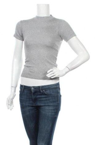Дамска блуза Zebra, Размер S, Цвят Сив, 85% вискоза, 10% други материали, 5% еластан, Цена 15,12лв.