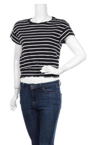Дамска блуза Zebra, Размер S, Цвят Черен, Памук, Цена 15,12лв.