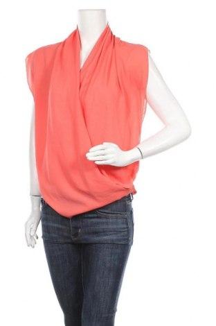 Дамска блуза Zebra, Размер S, Цвят Оранжев, Полиестер, Цена 14,18лв.