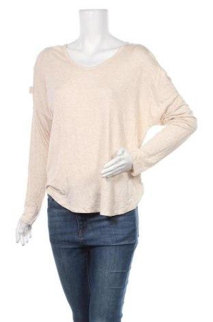 Γυναικεία μπλούζα Zenana Outfitters, Μέγεθος M, Χρώμα  Μπέζ, 95% βισκόζη, 5% ελαστάνη, Τιμή 10,91€