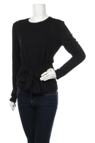 Дамска блуза Zign, Размер XL, Цвят Черен, 95% вискоза, 5% еластан, Цена 18,90лв.