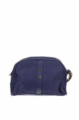 Дамска чанта, Цвят Син, Текстил, еко кожа, Цена 11,97лв.