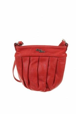 Γυναικεία τσάντα, Χρώμα Κόκκινο, Γνήσιο δέρμα, Τιμή 26,89€