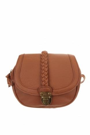 Дамска чанта, Цвят Кафяв, Еко кожа, Цена 20,79лв.