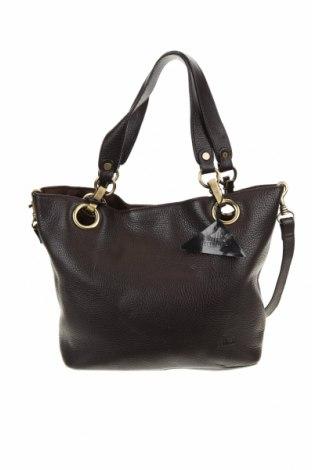 Дамска чанта, Цвят Кафяв, Естествена кожа, Цена 68,04лв.