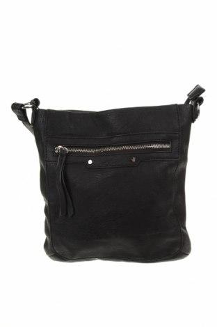 Дамска чанта, Цвят Черен, Еко кожа, Цена 23,10лв.