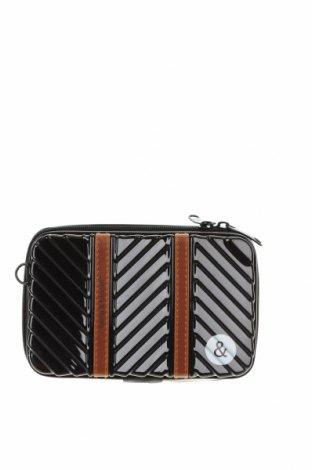 Γυναικεία τσάντα, Χρώμα Μαύρο, Άλλα υλικά, Τιμή 13,16€