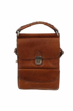 Дамска чанта, Цвят Кафяв, Естествена кожа, Цена 39,90лв.