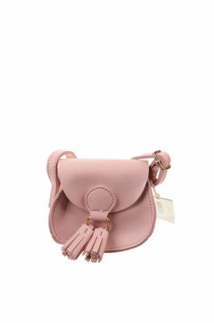 Дамска чанта, Цвят Розов, Еко кожа, Цена 36,86лв.