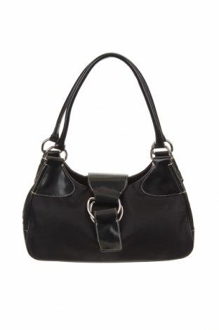 Дамска чанта Abro, Цвят Черен, Текстил, естествена кожа, Цена 44,64лв.