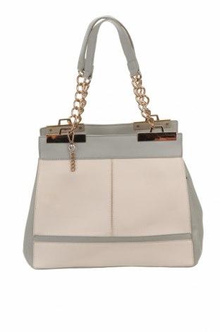 Дамска чанта Colette By Colette Hayman, Цвят Сив, Еко кожа, Цена 32,55лв.